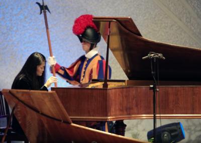 Jin Ju | Concerto in Vaticano