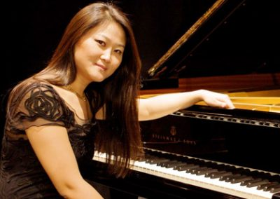 Jin Ju fluttua tra le note assieme al pubblico degli Amici della Musica