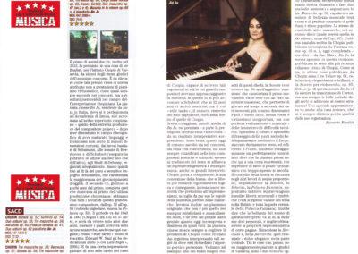 Il premio della rivista MUSICA